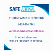 Reporting Student Absences: Safe Arrival